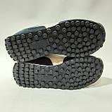 Мужские кроссовки / натуральная кожа / р. 42,43 Пума  Синий, фото 7