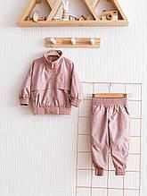 """Костюм з плащової тканини """"Zooty"""", рожевий"""