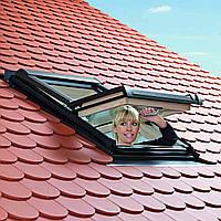 Центрально-поворотное окно Designo R4 - R45 74х118