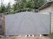 Ворота листовые