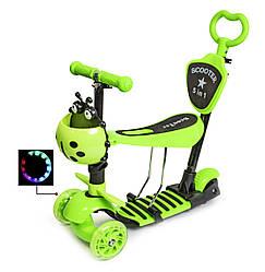 "Самокат Scooter ""Божья коровка""  Green"