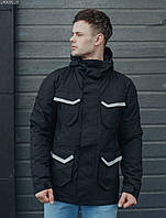 Мужская куртка Staff black pocket