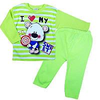 Пижама детская трикотажная 92 (2 года) 09852
