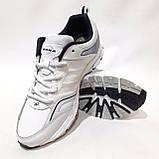 Мужские кроссовки р. 45 последняя пара Bona Fashion натуральная кожа Бона Белый, фото 2