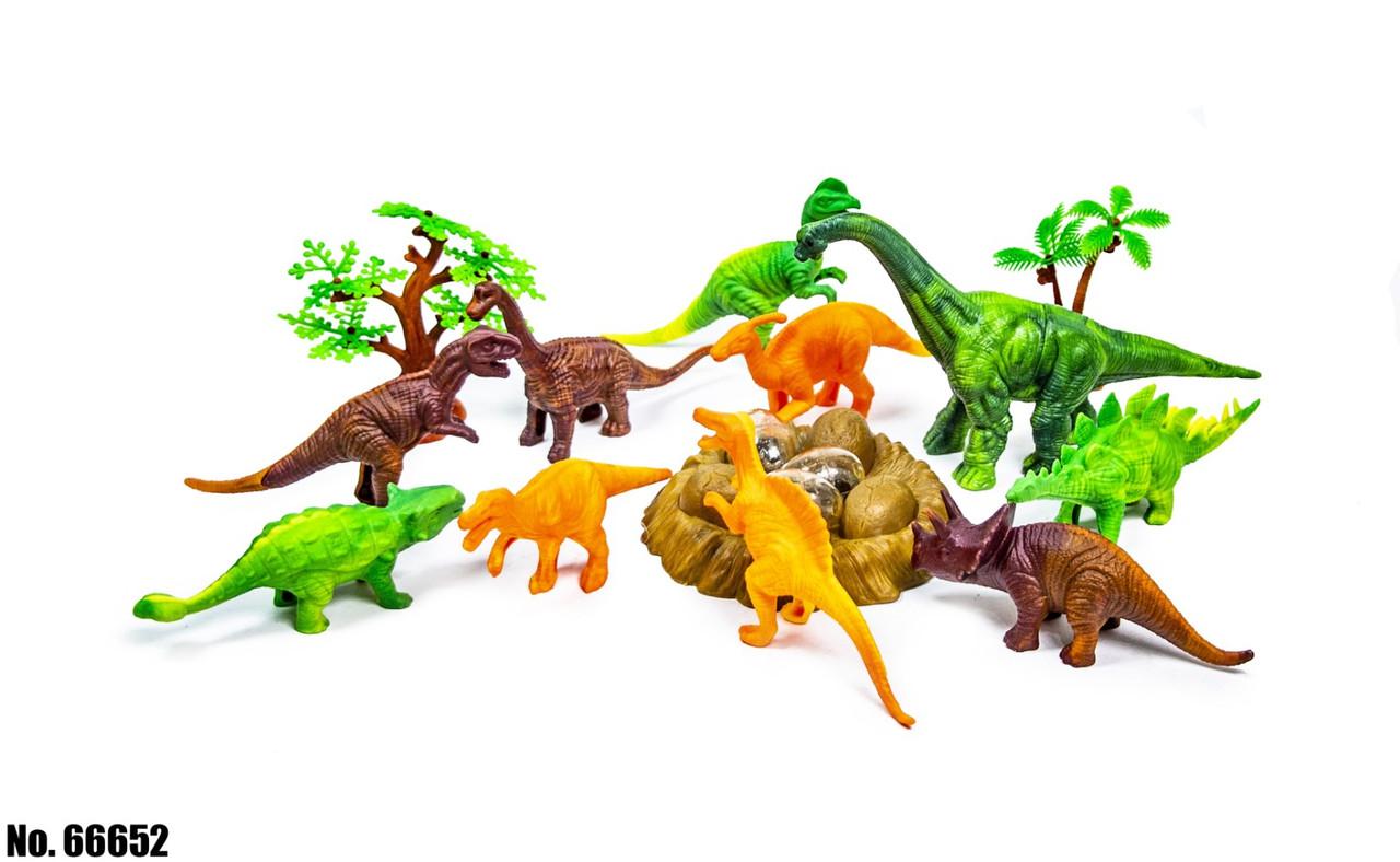 Ігровий набір Планета динозаврів 66652 оптом