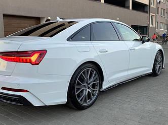 Пороги Audi A6 C8 S-line / S6 C8 тюнинг элерон обвес