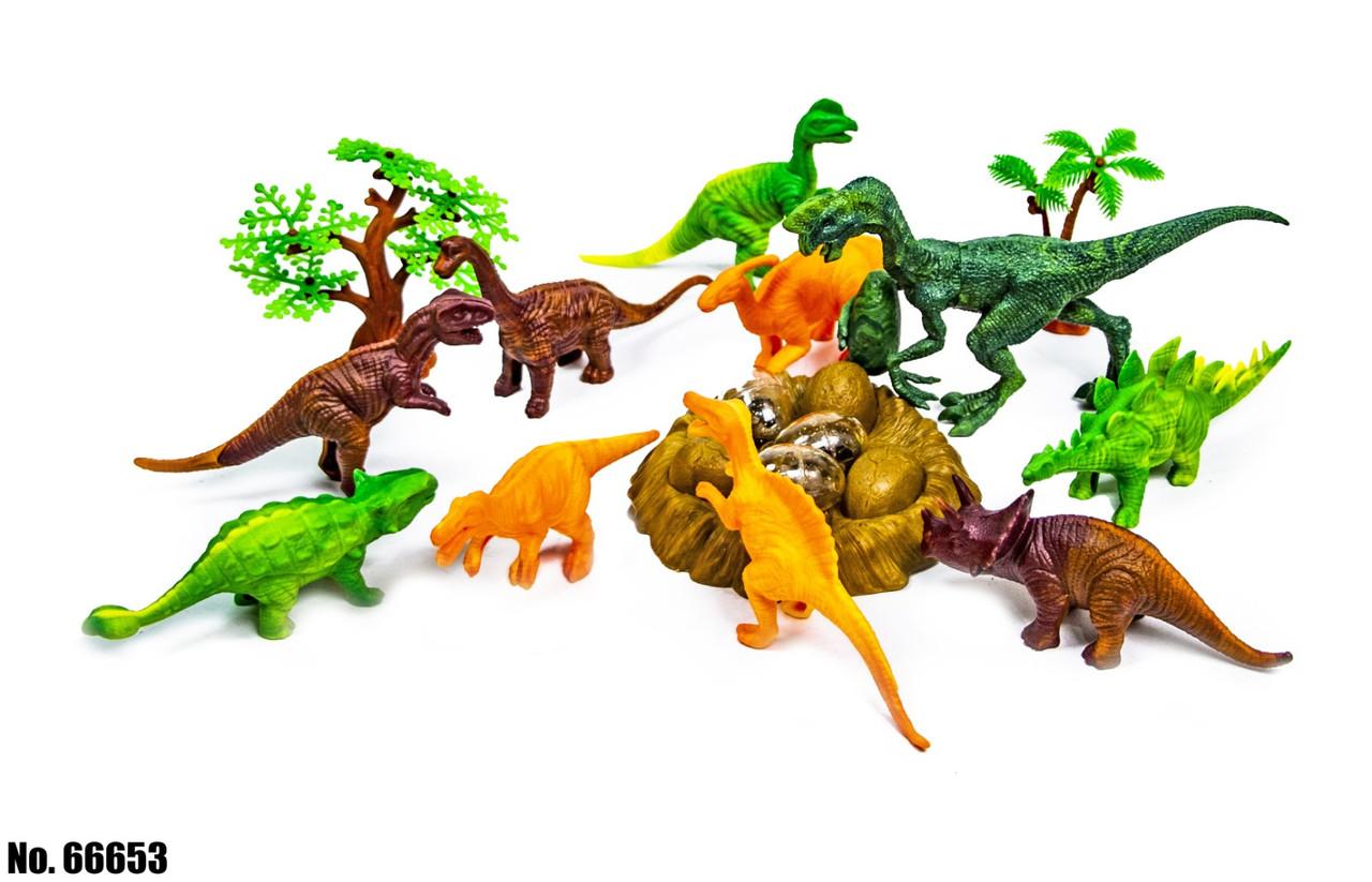 Игровой набор Планета динозавров 66653 оптом