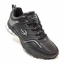 41,42,44 р Чоловічі кросівки Bona натуральна шкіра Бона Чорний