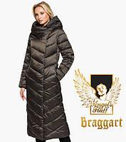 Воздуховик Braggart Angel's Fluff 31016 | Куртка зимняя женская капучино