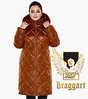 Воздуховик Braggart Angel's Fluff 31046 | Зимняя женская куртка сиена