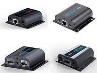 Удлинитель HDMI по 1 витой паре до 60м (GC-372pro)
