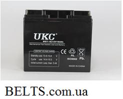 Аккумулятор UKC 12V 18A, батарея аккумуляторная УКС 12 вольт 18 Ампер