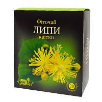 Липа цветки 50г. россыпь Фитопродукт