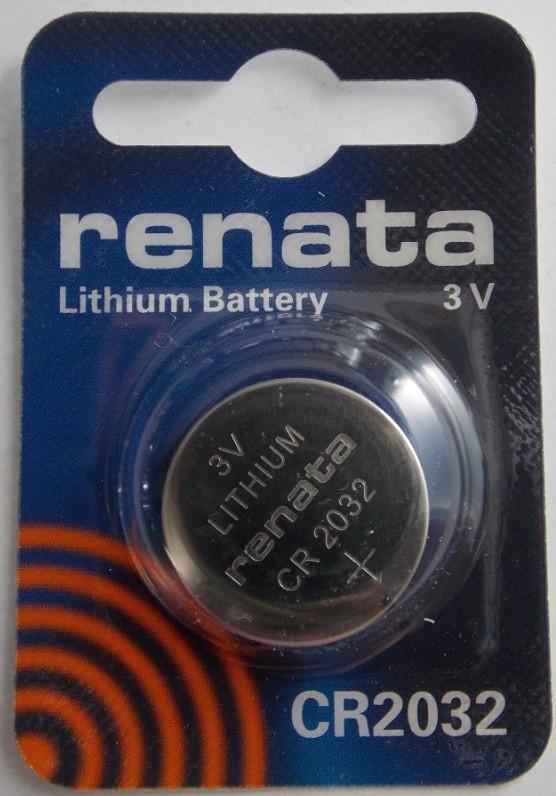 Батарейка для часов RENATA CR2032 3 V