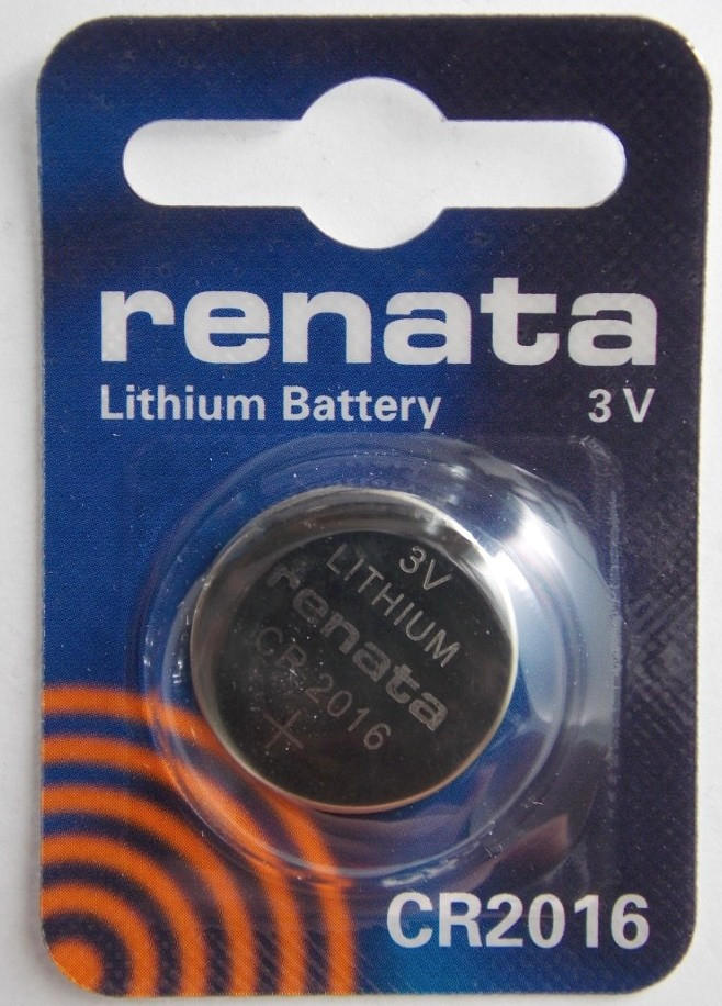 Батарейка для часов RENATA CR2016 3 V