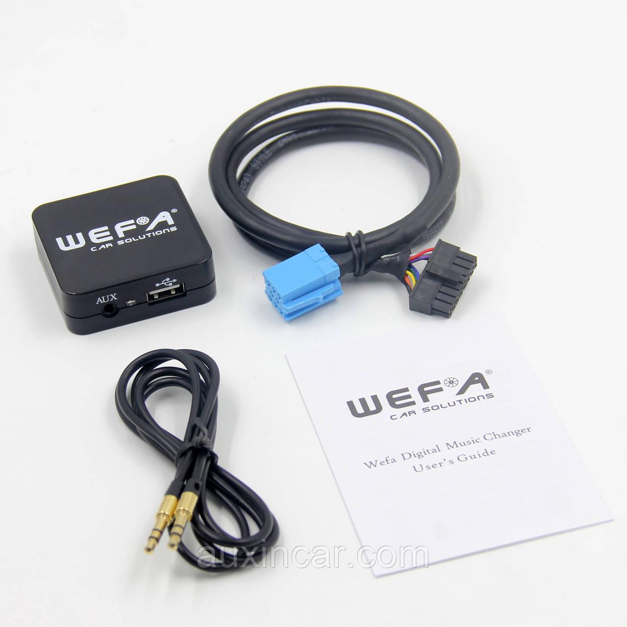 Автомобільний mp3 адаптер WEFA WF-605 MP3/USB/AUX для Fiat 8p