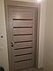 """Двері засклені міжкімнатні новий стиль мода пвх ultra """"Леона BLK,G 60 - 90 см дуб сірий, фото 8"""