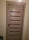 """Двері засклені міжкімнатні новий стиль мода пвх ultra """"Леона BLK,G 60 - 90 см дуб сірий, фото 9"""