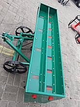 Зерновая сеялка шестирядная сошниковая с бункером для удобрений ЗС-6РСБ