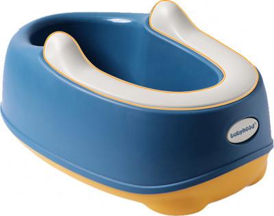 Дитяче сидіння на унітаз Babyhood Трансформер з драбинкою на унітаз блакитний (BH-131РВ)