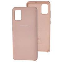 Чехол Silicone Case для Samsung Galaxy A51 Nude