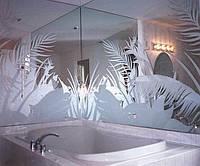Рисунки на зеркалах,стеклах-пескоструй,покраска