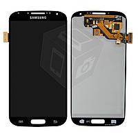 Дисплейный модуль (дисплей + сенсор) для Samsung Galaxy S4 i9500 / i9505, черный, оригинал