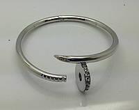 Браслеты гвоздик со стразами от Cartier. Элитная бижутерия оптом и в розницу. 797