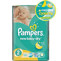 Подгузник Pampers New Baby-Dry Mini (3-6 кг), 68шт (4015400735571)
