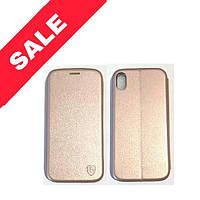 """Чохол книжка """"CLASSY&LEVEL"""" iPhone XR Rose-Gold"""