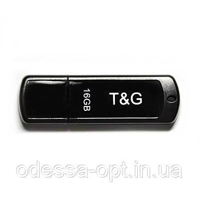 Накопичувач USB 16GB T&G Classic серiя 011 чорний, фото 2