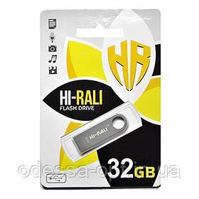 Накопичувач USB 32GB Hi-Rali Shuttle серiя срібло