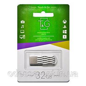 Накопичувач USB 32GB T&G металева серія 103