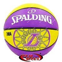 Мяч баскетбольный Spalding 83156Z NBA Lakers