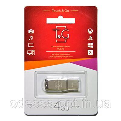Накопичувач USB 4GB T&G металева серія 100, фото 2