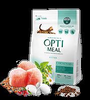 OptiMeal Корм для котят - КУРИЦА 4 кг
