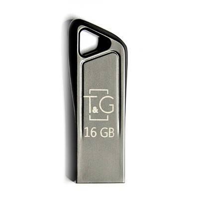 Накопичувач USB 16GB T&G металева серія 114, фото 2