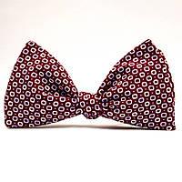 Галстук-бабочка KRAGO Red Button Бордовый KRG-00417, КОД: 187033