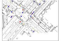 Разработка схем организации дорожного движения