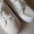 Белые кеды женские білі кеди жіночі, фото 9