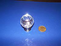 Ручка шарик под Swarovski 25мм хром, фото 1