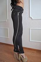 Леггинсы-брюки Змейка лампас, фото 1