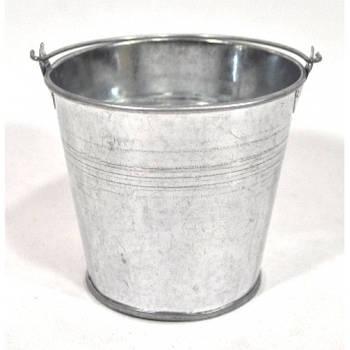 Ведерко декоративное 12*11 см, оцинковка