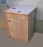 Стіл кухонний 60х60 (стільниця 28мм)12кол, фото 7