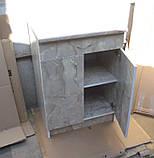 Стіл кухонний 60х60 (стільниця 28мм)12кол, фото 3