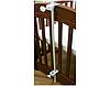 Универсальный держатель (стойка, опора, подпора, крепёж) для балдахина (под балдахин) в (на) детскую кроватку - Фото