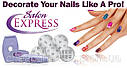 Набор для Росписи Дизайна Ногтей Salon Express, фото 5