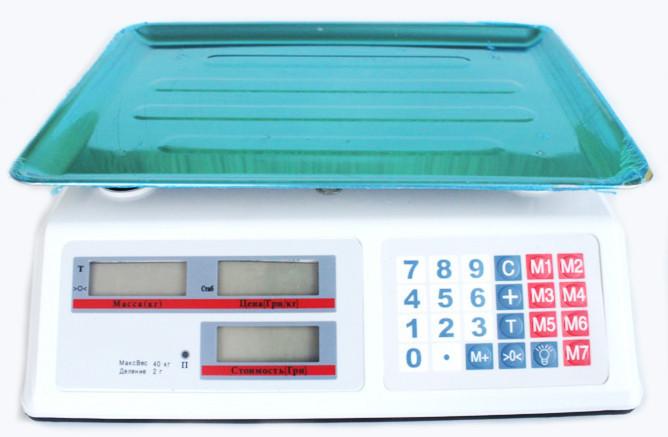 Торговые Электронные Весы DT 40 кг