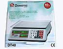 Торговые Электронные Весы DT 40 кг, фото 5
