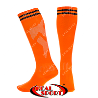 Дитячі футбольні гетри помаранчеві EDP603-OR, р. 27-34